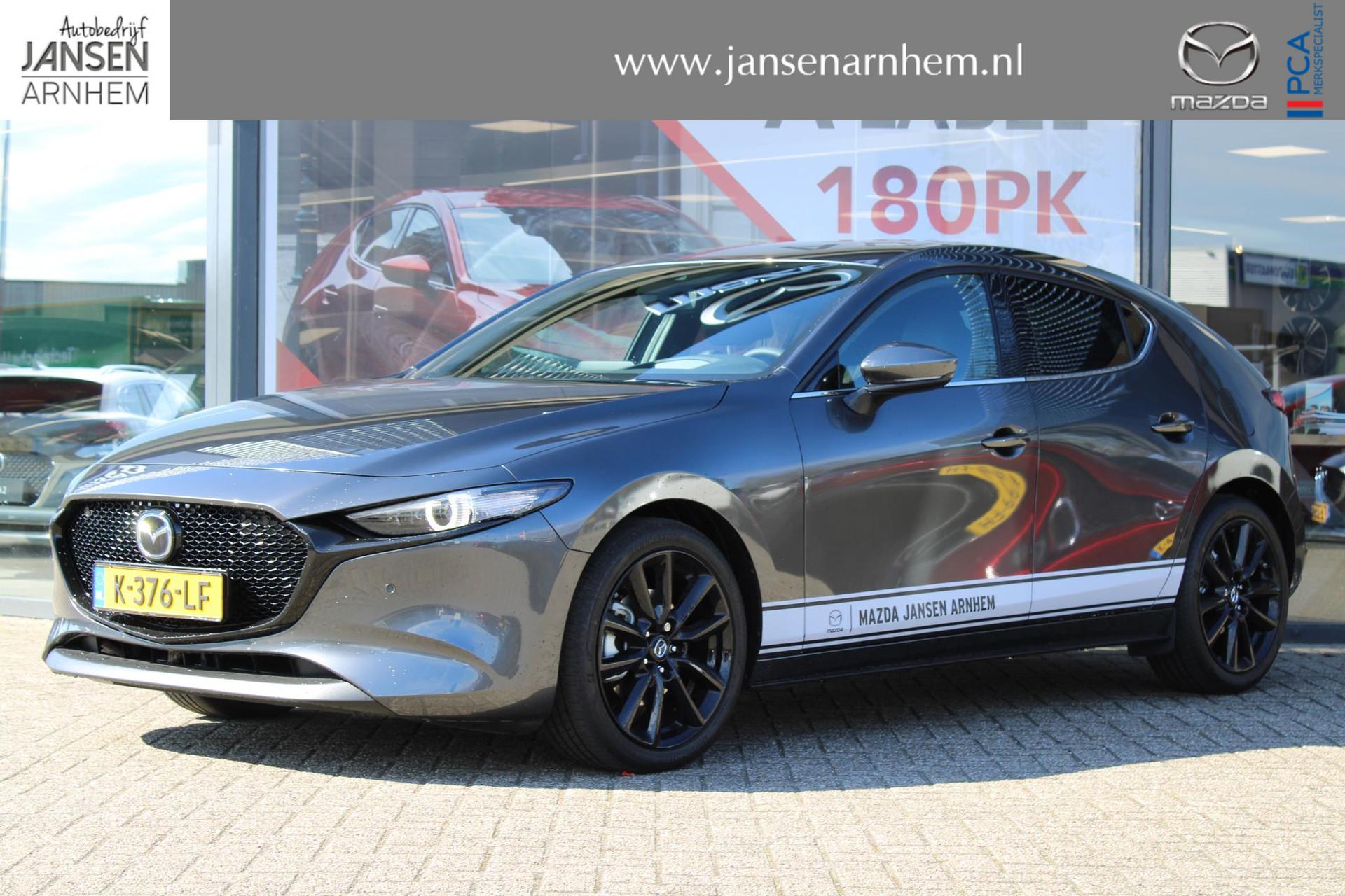 Mazda 3 2.0 SkyActiv-X 180PK Luxury , Demo voordeel van € 2.000,- , Autom