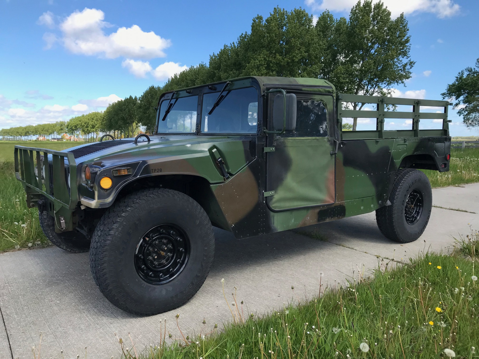 Hummer H1 Humvee AM GENERAL  Troop Carrier  6.2