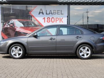 Mazda 6 Sport HB 2.0i Executive , Trekhaak, Leder, Clima, Cruise, Parrot,