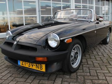 MG B 1.8 Roadster met Overdrive